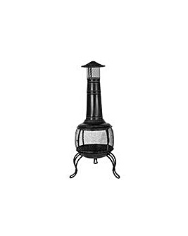 La Hacienda Large Steel Chiminea