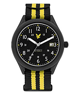 Lyle & Scott Nylon Strap Watch