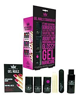 Gel Nails Starter Set With UV Lamp