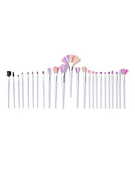 Rio 24 Piece Unicorn Make Up Brush Set