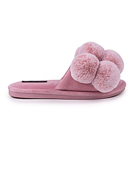 Pretty You London Dolly Slider Slippers