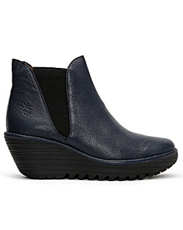 Fly London Woss Leather Ankle Boots
