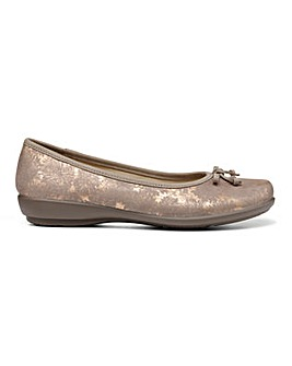 Hotter Emmy Slim Fit Ballet Pump