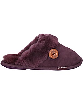 Cotswold Lechlade Sheepskin Mule Slipper
