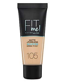 Maybelline Fit Me Foundation - 105 Natural Ivory