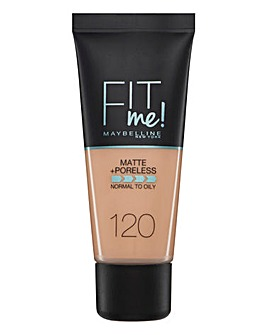 Maybelline Fit Me Foundation 120