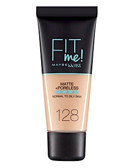 Maybelline Fit Me Liquid Foundation - 128 Warm Nude