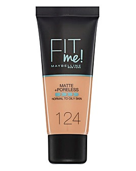 Maybelline Fit Me Foundation 124