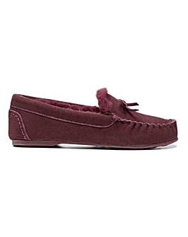 Hotter Cherish Moccasin Slipper