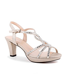 Paradox London Lottie Platform Sandals