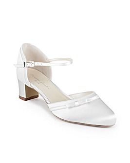 Paradox London Annalina Wide Fit Court Shoes