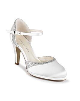 Paradox London Almeria Platform Court Shoes