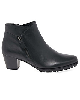 Gabor Olivetti Wide Fit Ankle Boots