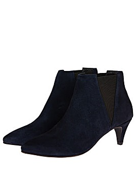 Monsoon SERENITY SUEDE POINT ANKLE BOOT