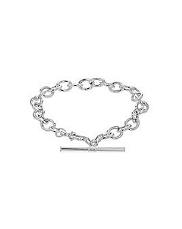 Sterling Silver T-Bar Belcher Bracelet
