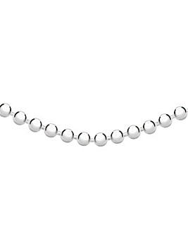 Gents Sterling Silver 3mm Ball Chain