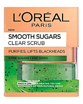 L'Oreal Paris Smooth Sugar Clear Face & Lip Scrub