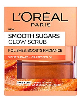 L'Oreal Paris Smooth Sugar Glow Face & Lip Scrub