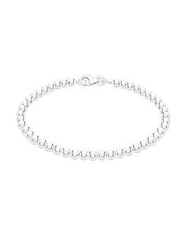 Sterling Silver 4mm Ball Bracelet