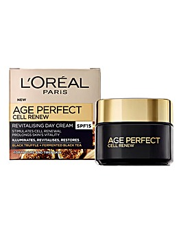 L'Oreal Paris Age Perfect Cell Renew Day Cream SPF15 50ml