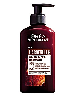 L'Oreal Men Expert Barber Club Beard, Hair and Face Wash