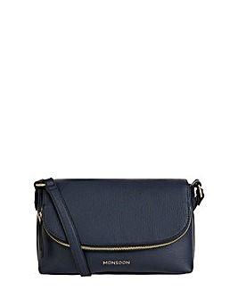 Monsoon ZIP CROSS BODY BAG