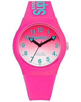Ladies Superdry Round Dial Strap Watch