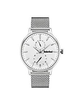 Gents Timberland Round Dial Mesh Strap Watch