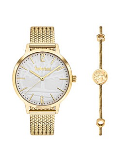 Ladies Timberland Round Dial Mesh Bracelet Watch