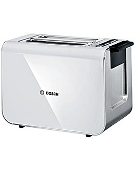Bosch TAT8611GB Styline 2 Slice Toaster - White