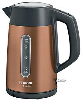 Bosch TWK4P439GB DesignLine Kettle - Copper