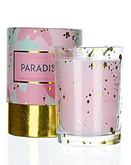 Candlelight Paradise Gift Boxed Candle