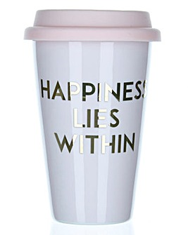 Happiness Lies Within Travel Mug