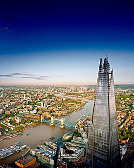 View of the Shard with Meal