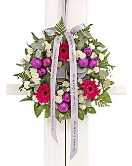 Purple Door Wreath