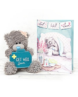 Me to You Get Well Bear and Card