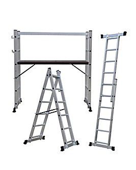 Charles Bentley 5-in-1 Scaffolding Ladder