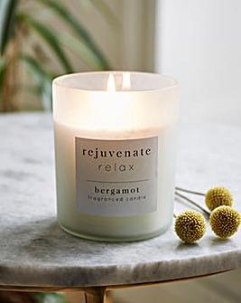 Rejuvenate Relax Bergamot Medium Candle