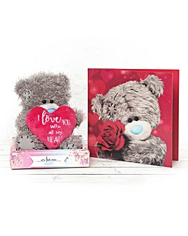 Me to You One I Love Bear and Card