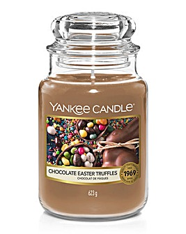 Yankee Candle Chocolate Easter Truffles Large Jar