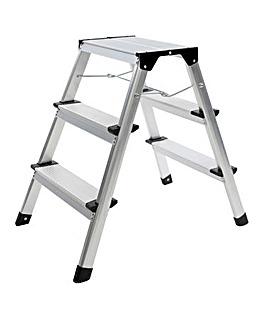 Charles Bentley 3 Tread Step Ladder