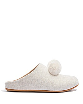 Fitflop Chrissie Pom Pom Slippers D Fit
