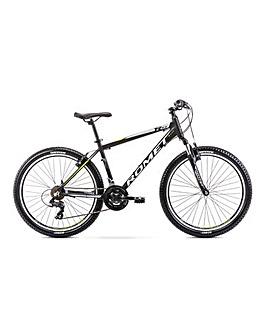 Romet Rambler R6.0 Alloy Hardtail Mountain Bike 14'' Frame Black