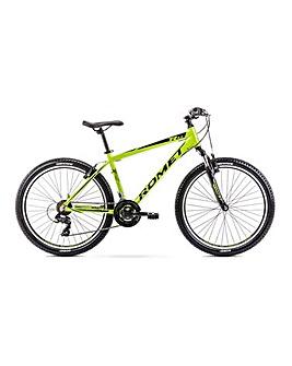 Romet Rambler R6.0 Alloy Hardtail Mountain Bike 14'' Frame Limone