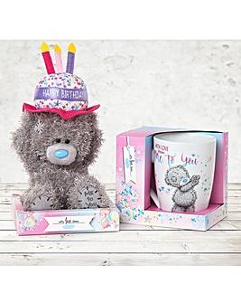 Me To You Birthday Plush and Mug