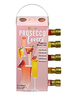 5pk Prosecco Toppers Set