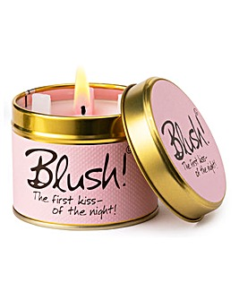 Lily-Flame Blush Candle Tin