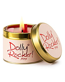 Lily-Flame Dolly Rocker Candle Tin
