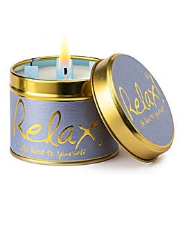 Lily-Flame Relax Candle Tin