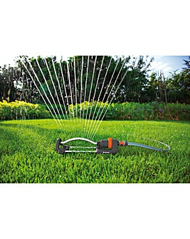 Gardena Classic Oscillating Sprinkler Polo 220 with Free Connector